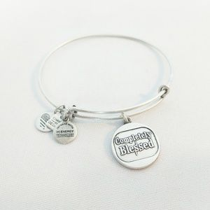 "Alex and Ani Silver ""Completely Blessed"" Bracelet"